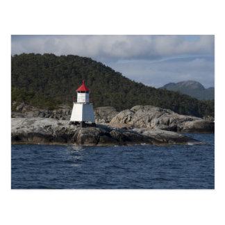 Norway, Stavanger. Views along Lysefjord. Postcard