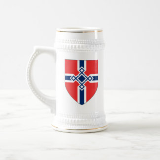 Norway Stein - Rune Cross Shield