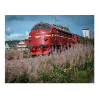 Norway. Størenbanen 150 år. Jubileumstog. Postcard