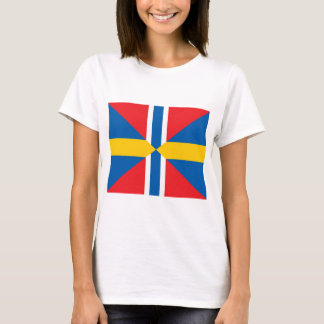 Norway Sweden Union Flag T-Shirt