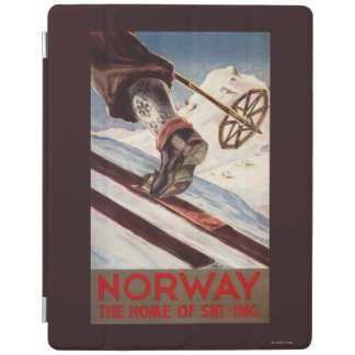 Norway - The Home of Skiing iPad Cover