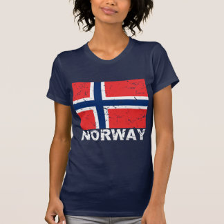 Norway Vintage Flag T-Shirt