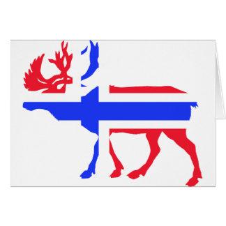 Norwege Elk Card