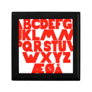 Norwegian Alphabet Gift Box