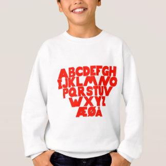 Norwegian Alphabet Sweatshirt