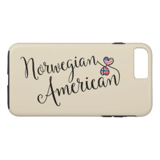 Norwegian American Entwined Hearts Cell Phone Case