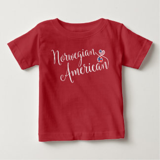 Norwegian American Entwinted Hearts Tee Shirt