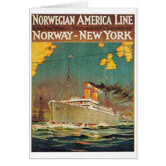 Norwegian American Line Card