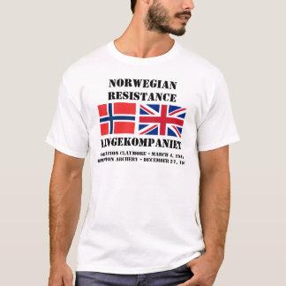Norwegian British Resistance Operations T-Shirt