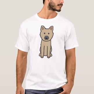Norwegian Buhund Dog Cartoon T-Shirt