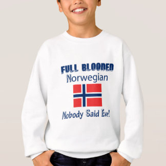 Norwegian  citizen design sweatshirt