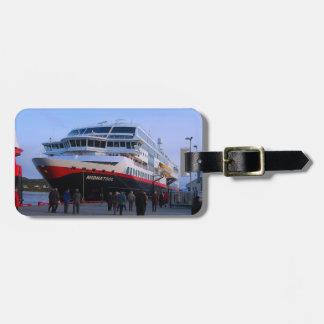 Norwegian cruise ship bag tag
