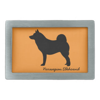 Norwegian Elkhound Belt Buckles