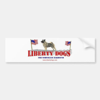 Norwegian Elkhound Bumper Sticker