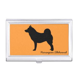 Norwegian Elkhound Business Card Cases