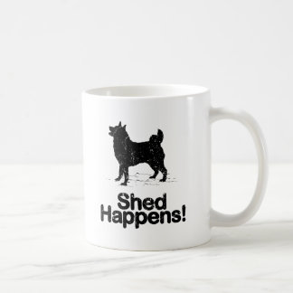 Norwegian Elkhound Classic White Coffee Mug