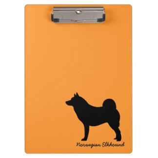Norwegian Elkhound Clipboard