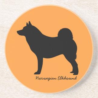 Norwegian Elkhound Coasters