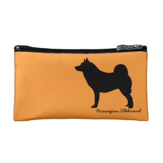 Norwegian Elkhound Cosmetic Bags