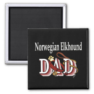 norwegian elkhound dad Magnet
