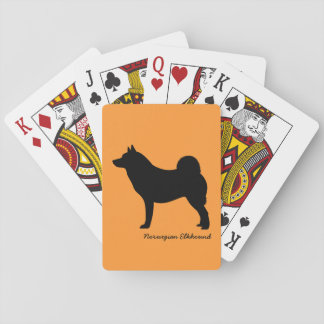 Norwegian Elkhound Deck Of Cards