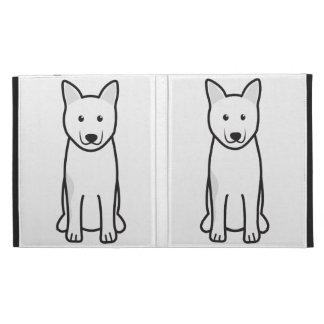 Norwegian Elkhound Dog Cartoon iPad Folio Cases