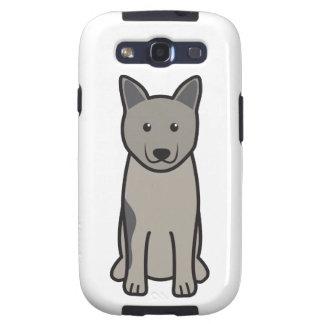 Norwegian Elkhound Dog Cartoon Galaxy S3 Case