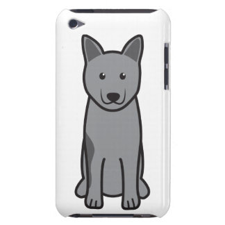 Norwegian Elkhound Dog Cartoon iPod Case-Mate Cases