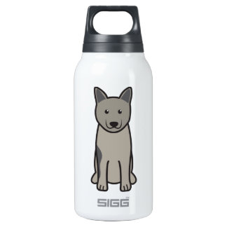 Norwegian Elkhound Dog Cartoon SIGG Thermo 0.3L Insulated Bottle