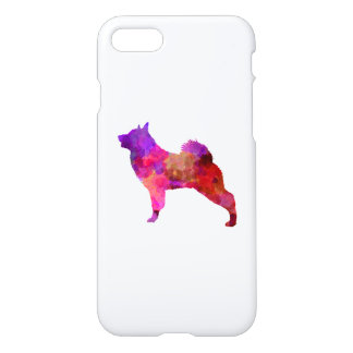 Norwegian Elkhound in watercolor iPhone 8/7 Case