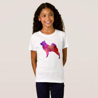 Norwegian Elkhound in watercolor T-Shirt