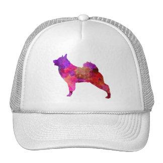 Norwegian Elkhound in watercolor Trucker Hat