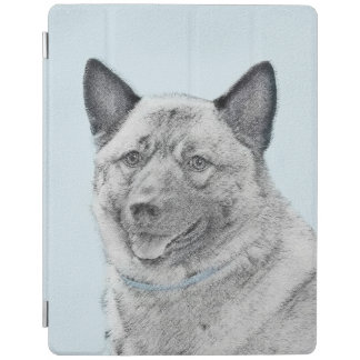 Norwegian Elkhound iPad Cover