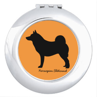 Norwegian Elkhound Mirror For Makeup