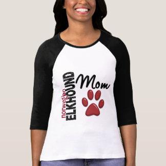 Norwegian Elkhound Mom 2 T-Shirt