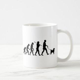 Norwegian Elkhound Basic White Mug