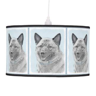 Norwegian Elkhound Pendant Lamp