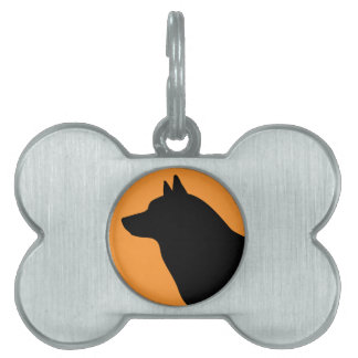 Norwegian Elkhound Pet Tag