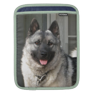 Norwegian Elkhound Rickshaw Sleeve iPad Sleeve