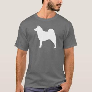 Norwegian Elkhound Silhouette T-Shirt