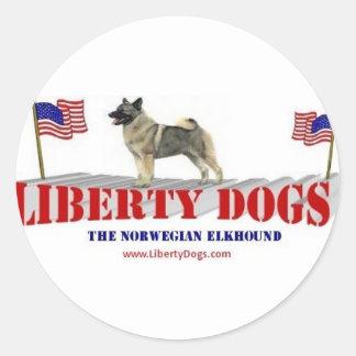 Norwegian Elkhound Sticker