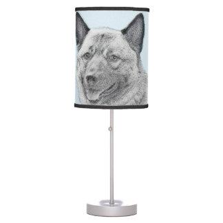 Norwegian Elkhound Table Lamp