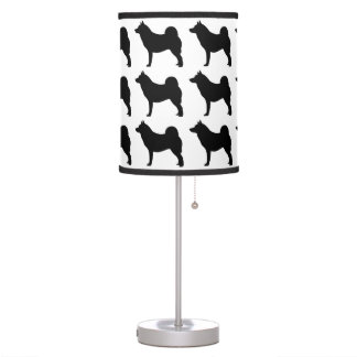 Norwegian Elkhound Table Lamp