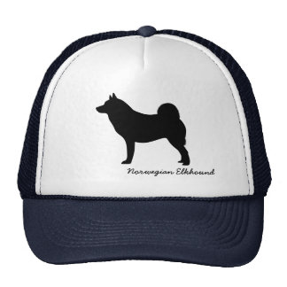 Norwegian Elkhound Trucker Hat