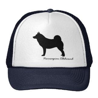 Norwegian Elkhound Trucker Hat