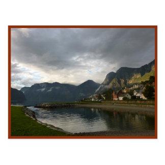 Norwegian Fjord (Aurlandsfjord) Postcard