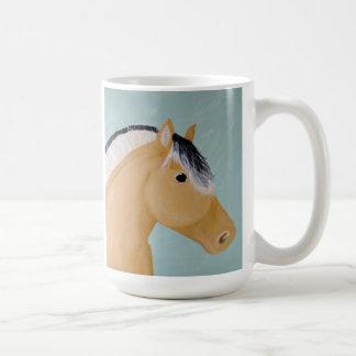 Norwegian Fjord Horse Artwork on Mug