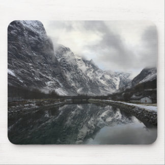 Norwegian Fjords Mouse Pad