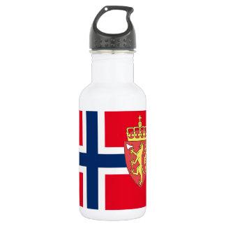 Norwegian flag 532 ml water bottle
