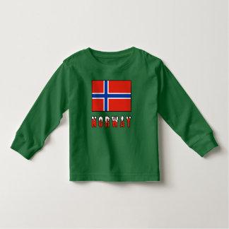 Norwegian Flag and Norway Toddler T-shirt